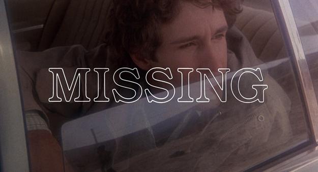 Missing - générique