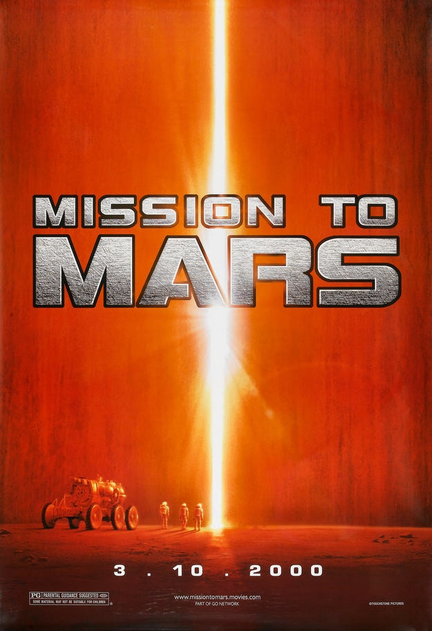 Mission to Mars - affiche