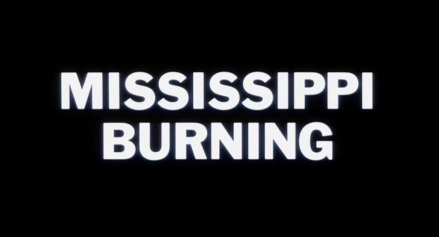 Mississippi Burning - générique