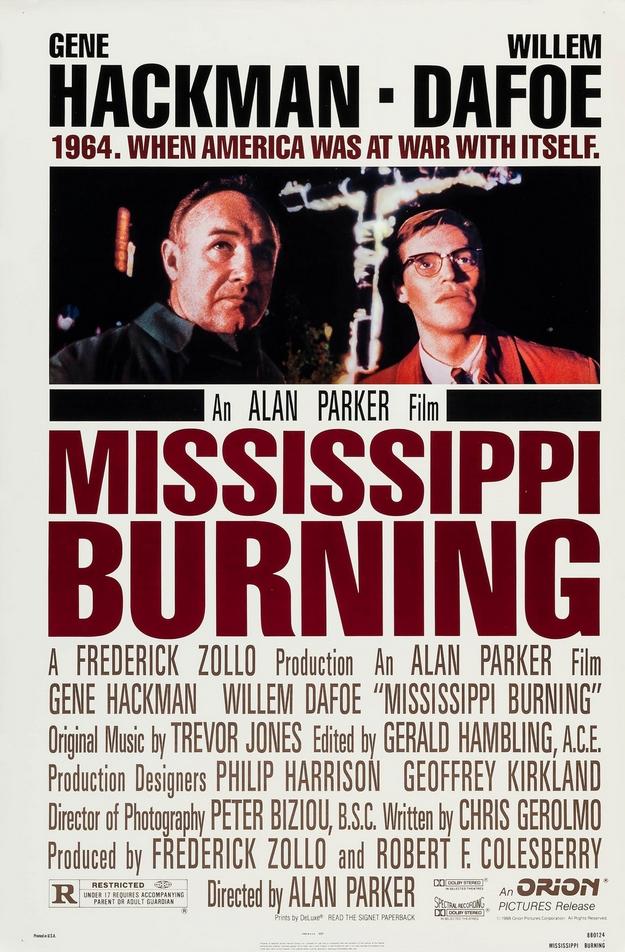 Mississippi Burning - affiche
