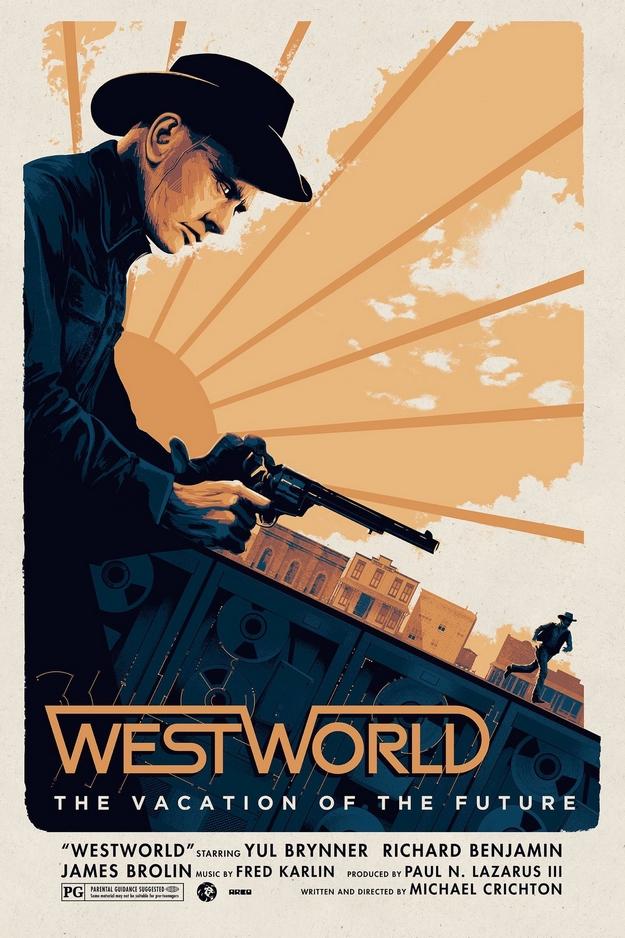 Mondwest - affiche alternative