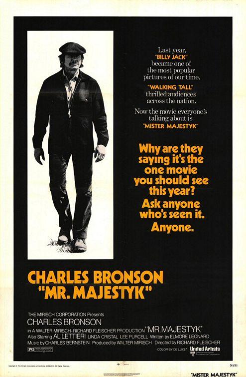 Monsieur Majestyk - affiche