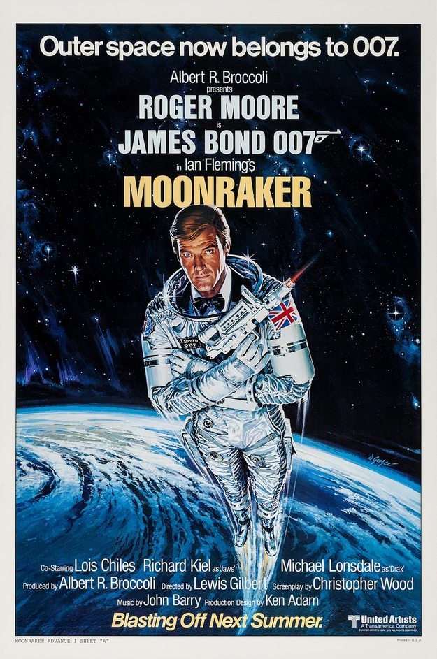 Moonraker - affiche