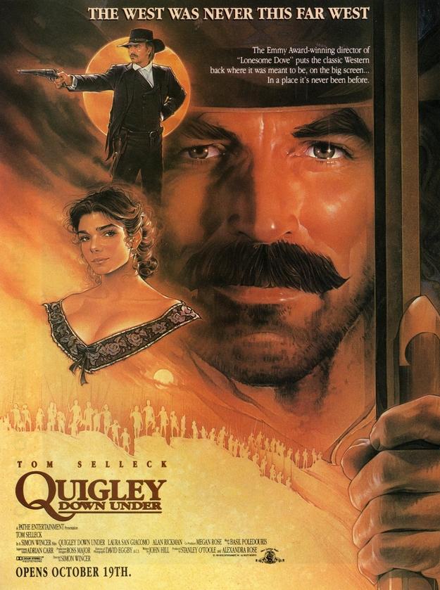 Mr Quigley l'Australien - affiche