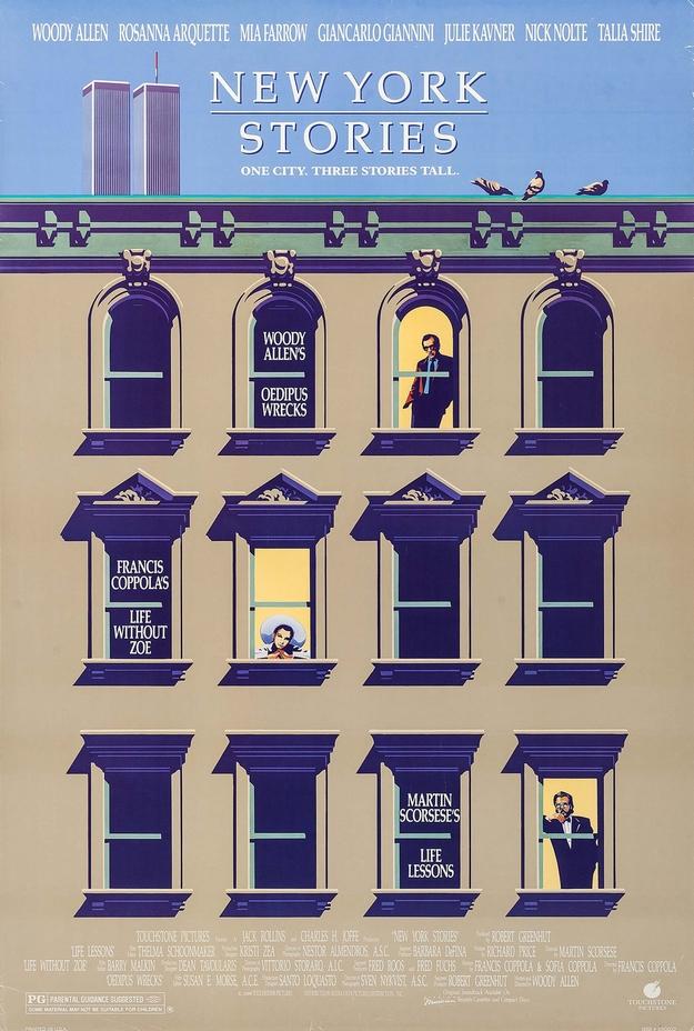 New York Stories - affiche