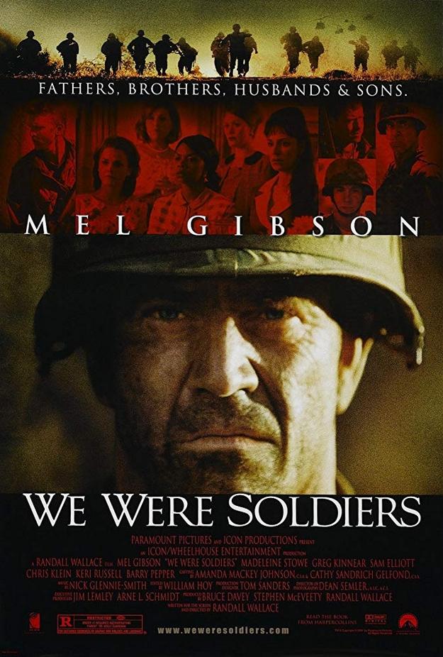 Nous étions soldats - affiche