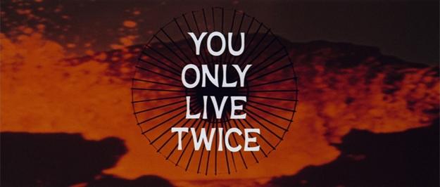 On ne vit que deux fois - générique
