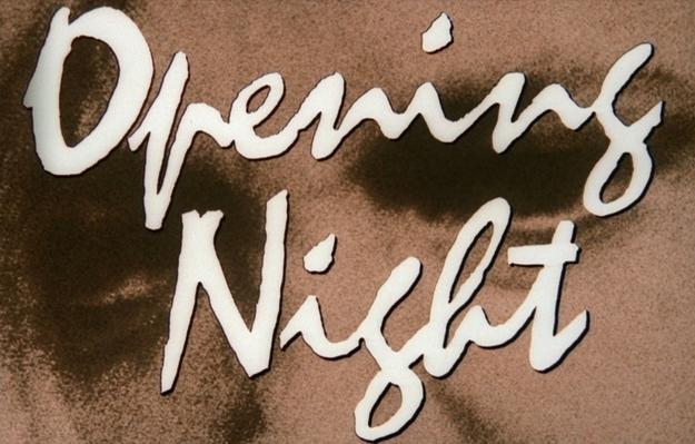 Opening Night - générique
