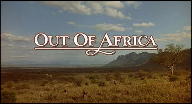 Out of Africa - générique