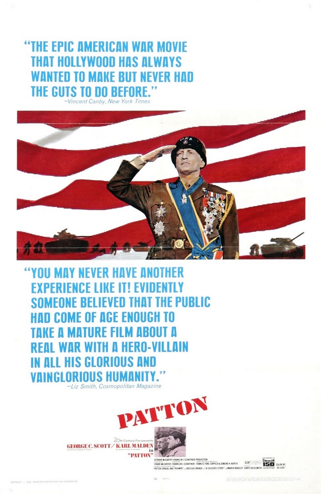 Patton - affiche