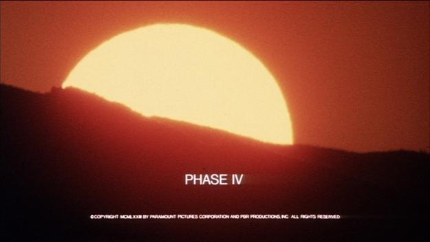 Phase IV - générique