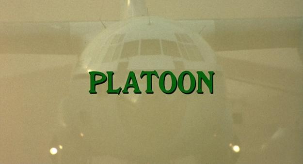 Platoon - générique