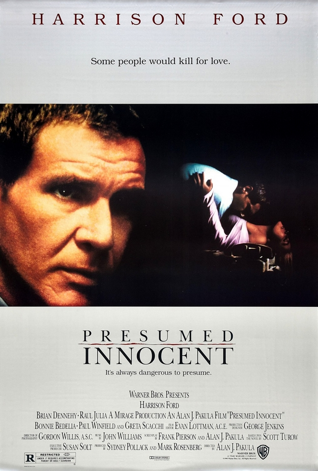 Présumé innocent - affiche