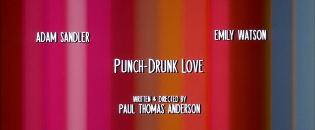 Punch Drunk Love - générique
