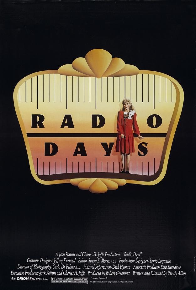 Radio Days - affiche