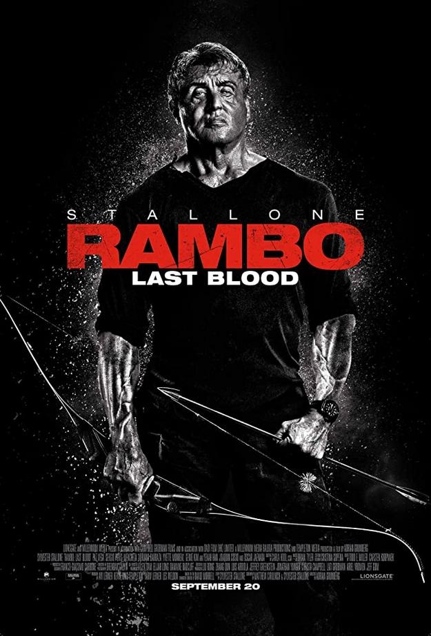 Rambo Last Blood - affiche