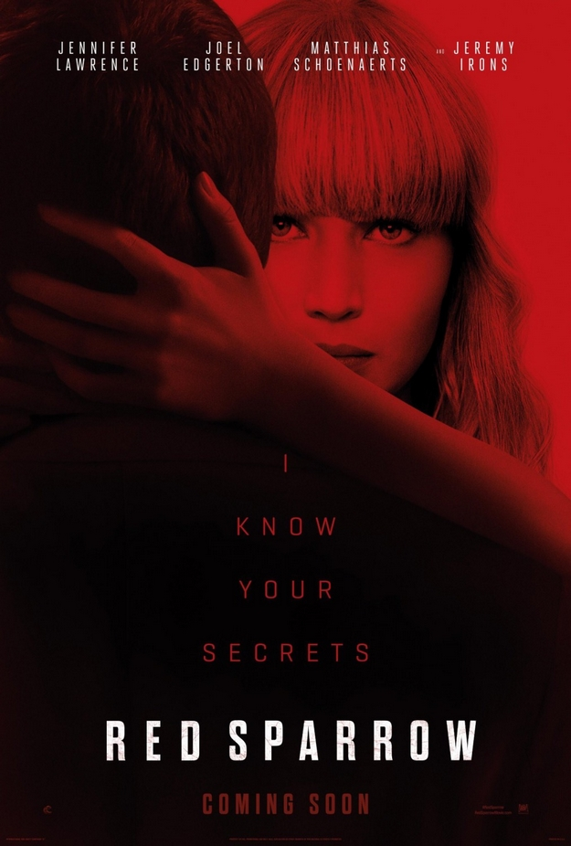 Red Sparrow - affiche