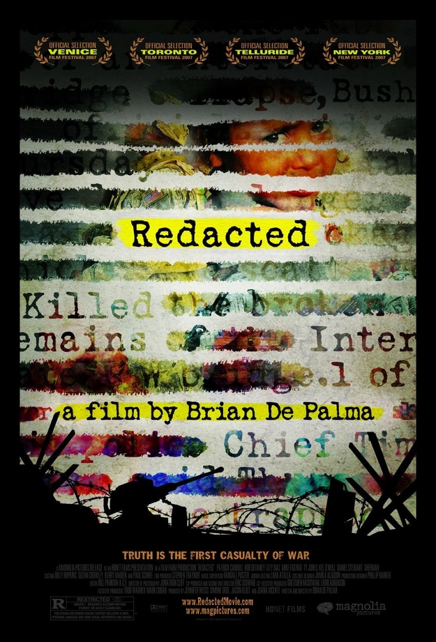 Redacted - affiche