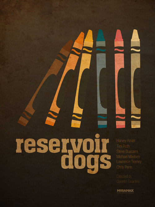 Reservoir Dogs - affiche alternative