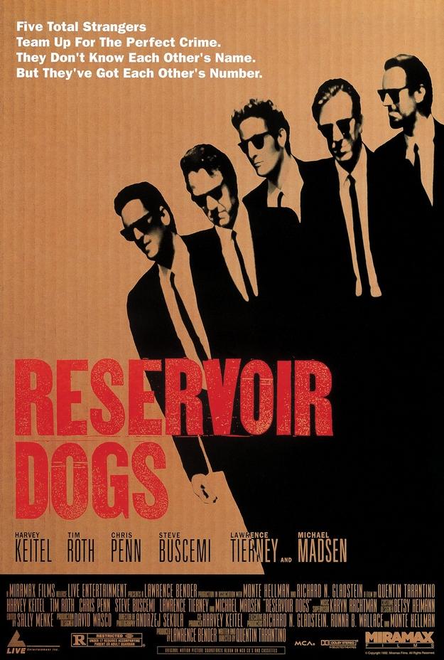 Reservoir Dogs - affiche
