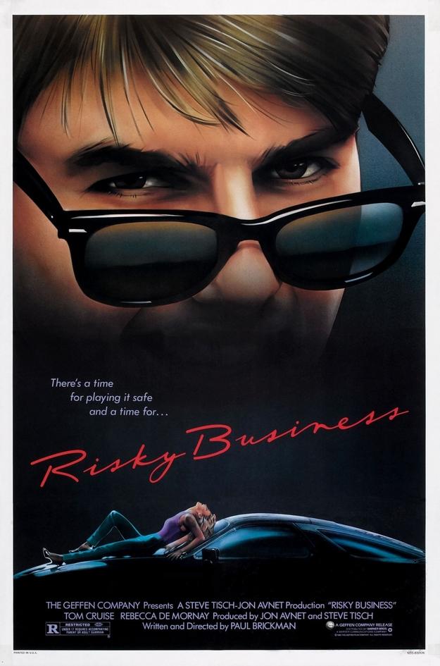 Risky Business - affiche