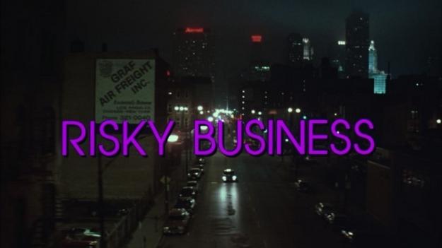 Risky Business - générique