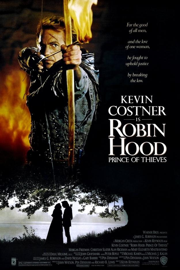 Robin des bois prince des voleurs - affiche