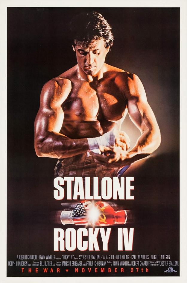 Rocky 4 - affiche