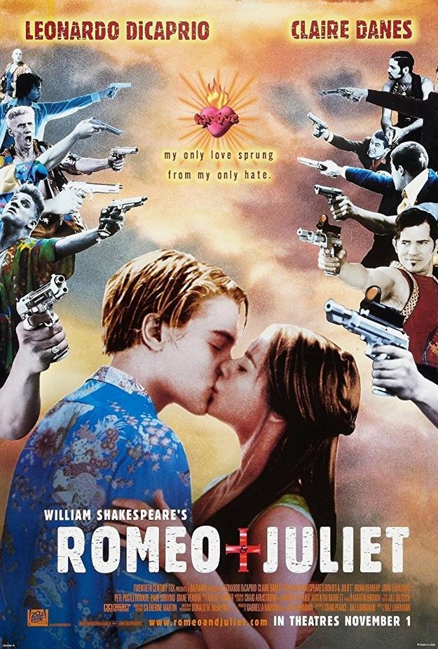 Roméo + Juliette - affiche