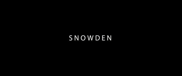 Snowden - générique