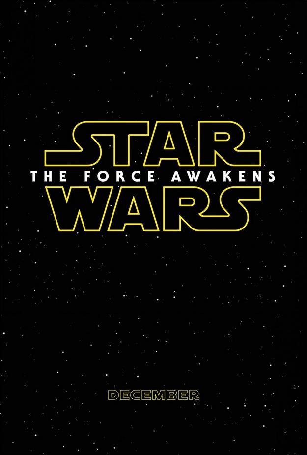 Le réveil de la Force - affiche