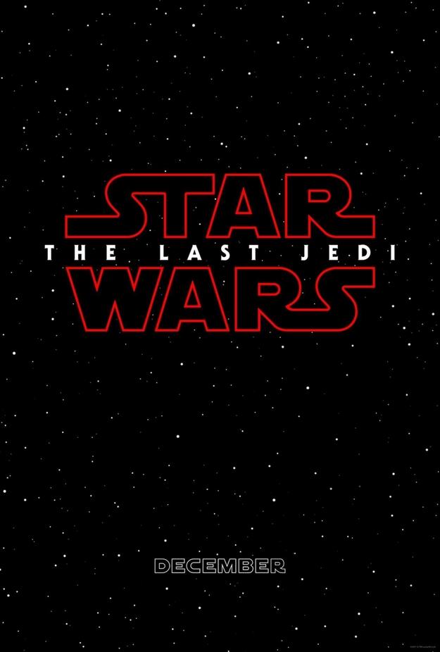 Les derniers Jedi - affiche