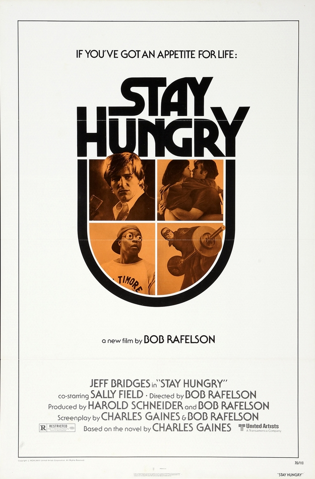 Stay Hungry - affiche