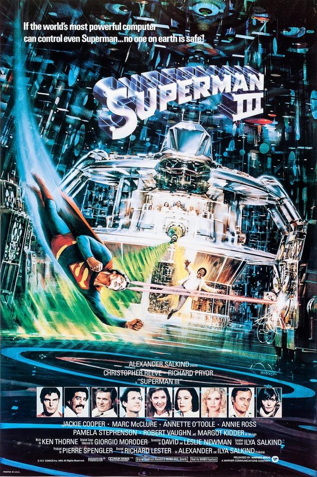 Superman 3 - affiche