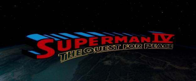 Superman 4 - générique