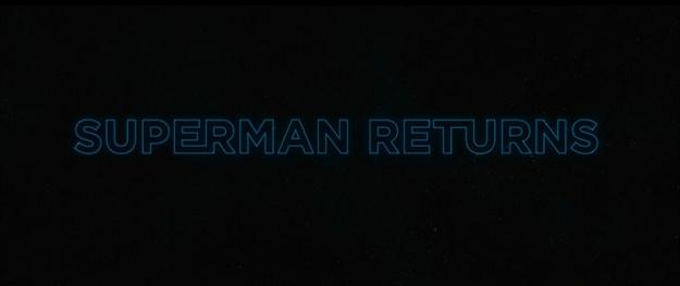 Superman Returns - générique