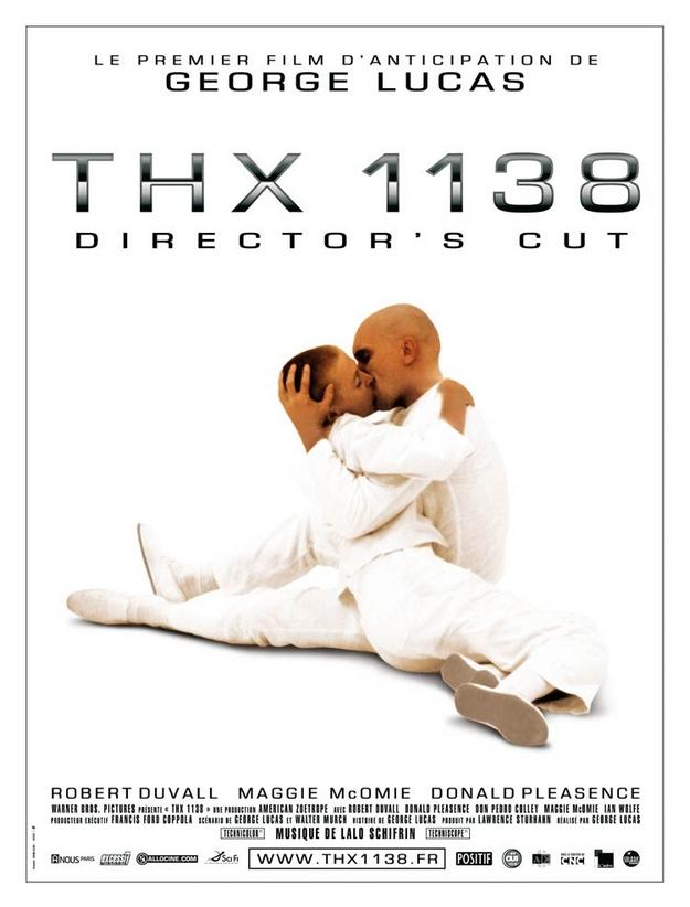 THX 1138 - affiche française