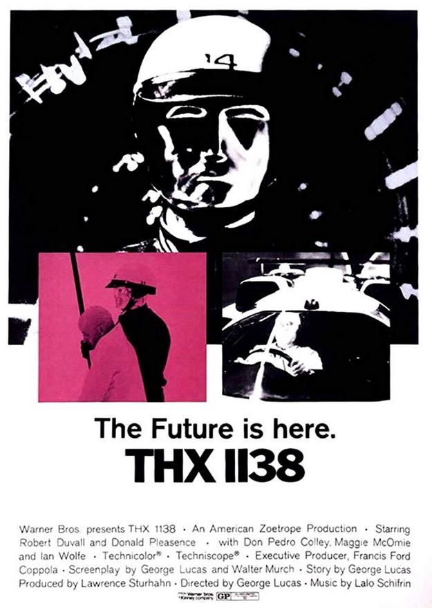 THX 1138 - affiche