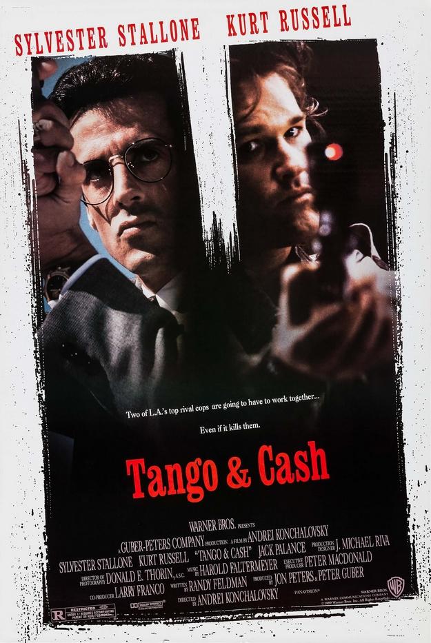 Tango et Cash - affiche