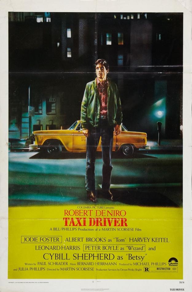 Taxi Driver - affiche