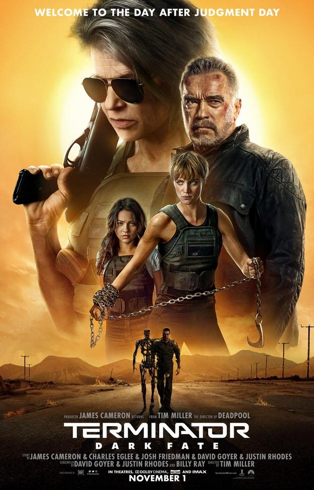 Terminator Dark Fate - affiche