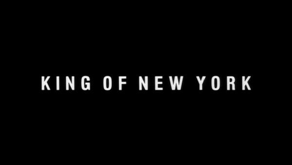 The King of New York - générique