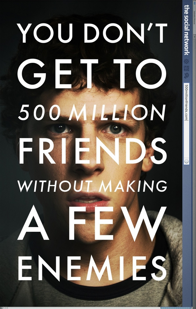 The Social Network - affiche