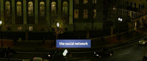 The Social Network - générique