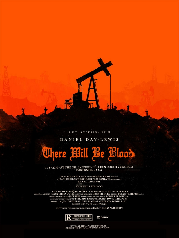 There Will Be Blood - Olly Moss