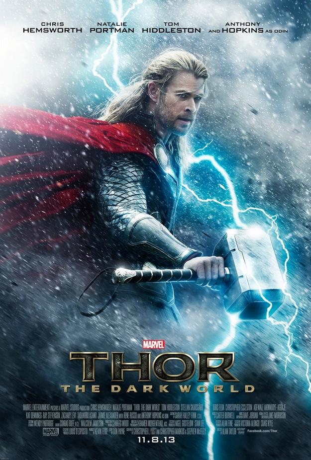Thor le monde des ténèbres - affiche