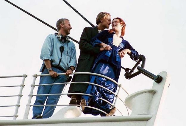 Titanic - photo de tournage