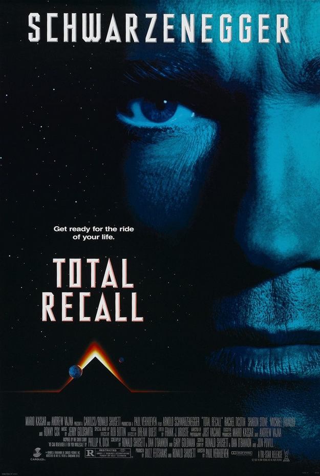 Total Recall - affiche