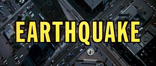 Tremblement de terre - générique