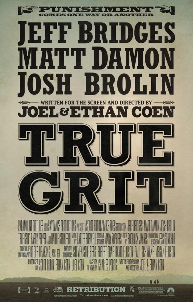 True Grit - affiche